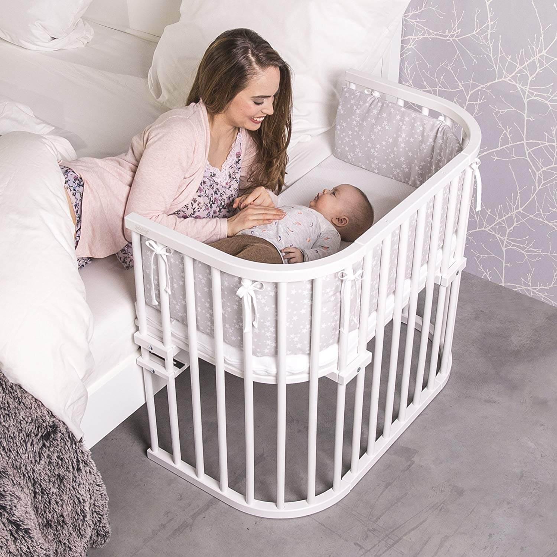 Babybay Maxi Beistellbett (weiß)