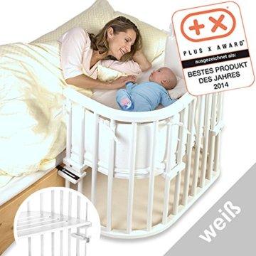 babybay 100112 Original weiß extra belüftet Beistellbett -
