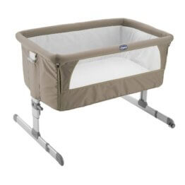 Chicco Beistellbett Next2Me, Dove Grey -