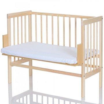 LCP Kids 416 Baby Beistellbett natur mit Matratze -