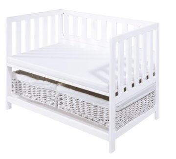 pinolino beistellbett janne wei produktvorstellung bewertung. Black Bedroom Furniture Sets. Home Design Ideas